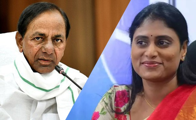 YS Sharmila Slams KCR And Vijayashanthi