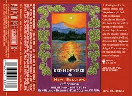 New Belgium Brewing Introduces a New Seasonal Beer