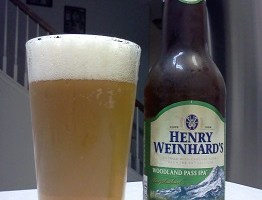 Henry Weinhard Woodland Pass IPA is a Good Training Beer