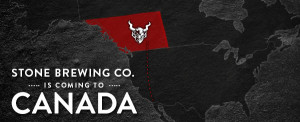 Stone Brewing Expands to Alberta and British Columbia