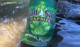 Full Sail Capsize Imperial Pilsner, the Latest Brewmaster Reserve Beer