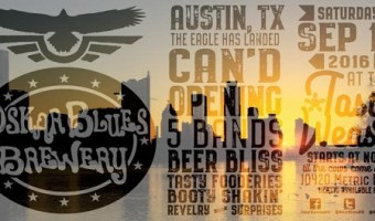 Oskar Blues Brewery Invites You to Austin's Can'd Opening Party