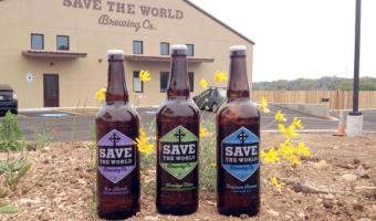 Save the World Brewing is Turning Two with a Party and Green Initiatives