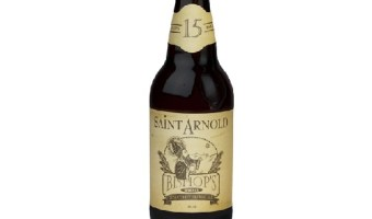 Saint Arnold Bishop's Barrel 15: An Old- Fashioned in a Beer Bottle