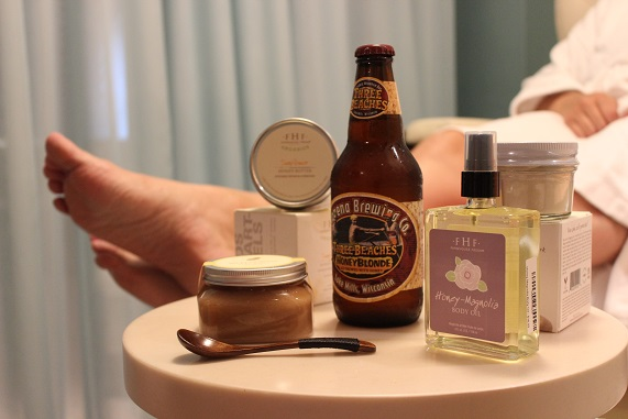 The Edgewater Resort Adds Local Beer to its Spa Treatment Service