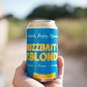 Adelbert's Brewery Refreshes with Buzzbait Blonde