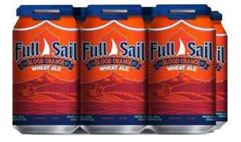 Full Sail Brewing Blood Orange Wheat Gets Canned