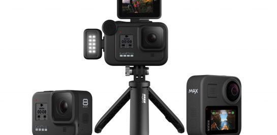 กล้องพร้อม ไฟพร้อม แอคชั่น! เปิดตัว GoPro HERO8 BLACK, Mods และ GoPro MAX
