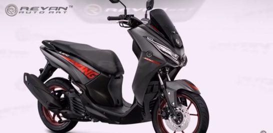 """เรนเดอร์ของ Yamaha Lexi """"King Concept"""" โดย Raven Art"""