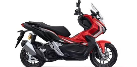 Honda ADV150 ABS จะไม่มีโลโก้แบบสามมิติ