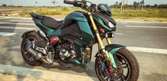 แต่ง Honda MSX125 ให้เป็น Kawasaki Z1000 คันจิ๋ว จากเวียดนาม!