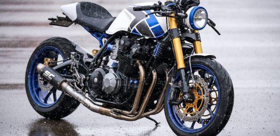 """Honda CB900F """"Tokyo Night"""" ผลงานคืนชีพให้รถจากปี 1981"""