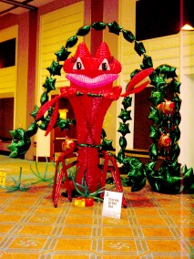 'La Loca' a 15 ft tall lobster