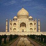 Taj Mahal (distant frontal)