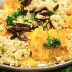Instant Pot Brown Rice, Quinoa and Roasted Pumpkin (or Butternut Squash)