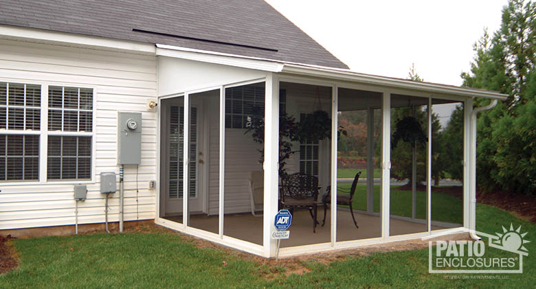 Image Result For How To Screen In A Porch With Aluminum Frame System