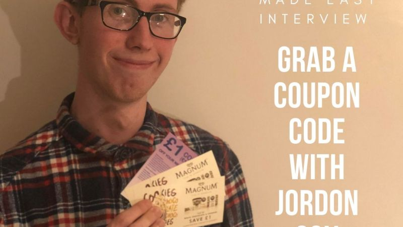 Jordon Cox Interviewed by GreatDealsMadeEasy