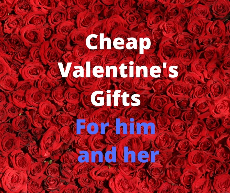 Cheap Valentines Gifts for him and her with GreatDealsMadeEasy