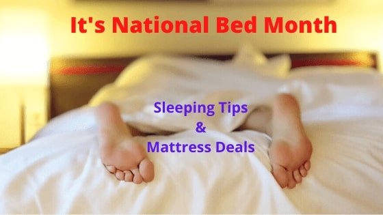 Great Deals Made Easy explores National Bed Week & online mattress deals