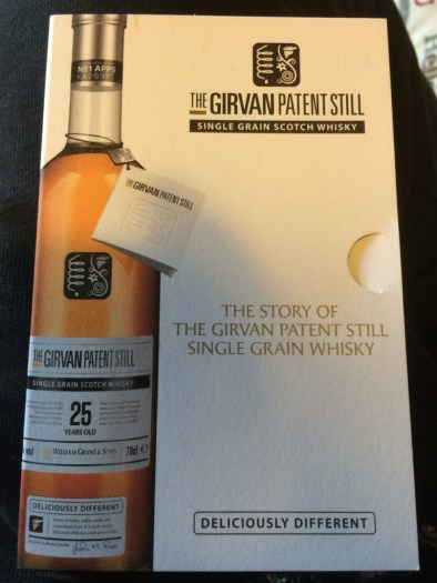 Girvan Patent Still 25 Year Old