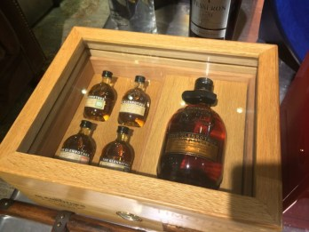 Whisky retailing in London