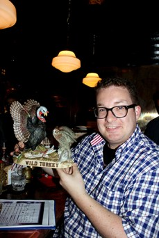 Greg (Great Drams) Turkey decanter