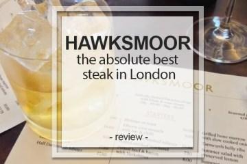 the absolute best steak in London