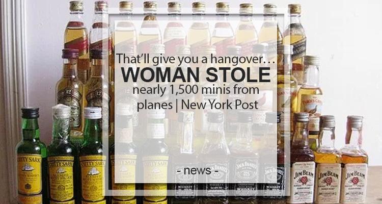 Woman stole