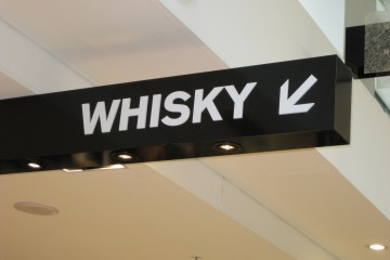 market report on whisky duty free