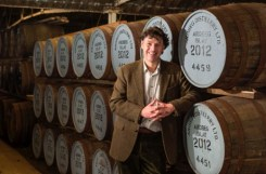 Dr Bill Lumsden, Ardbeg's Director of Distilling and Whisky Creation