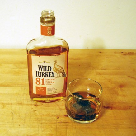 Product shot from GreatDrams' Wild Turkey 81 Review