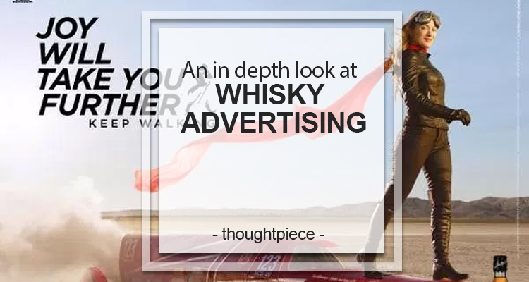 whisky advertising