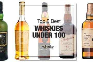Top 5 Best Whiskies Under £100