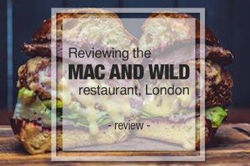 mac wild restaurant london
