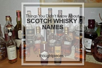 SCOTCH WHISKY NAMES