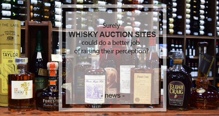 whisy auction sites