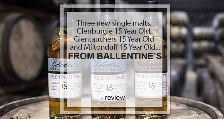 Glenburgie 15 Year Old, Glentauchers 15 Year Old and Miltonduff 15 Year Old
