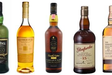 Top Whiskies Under £100