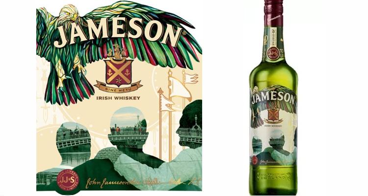 St. Patrick's Day bottle