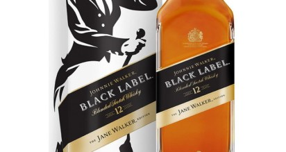 Johnnie Walker launches Johnnie Walker Black Label The Jane Walker Edition, donating $1 for every bottle made to organizations championing women's causes. (PRNewsfoto/Johnnie Walker)