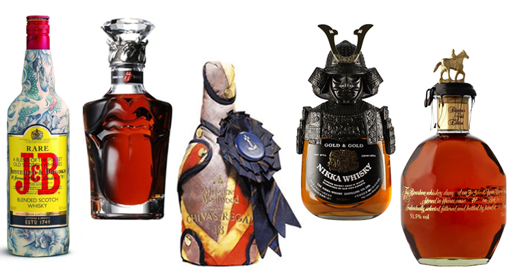 The Best Whisky Bottle Designs