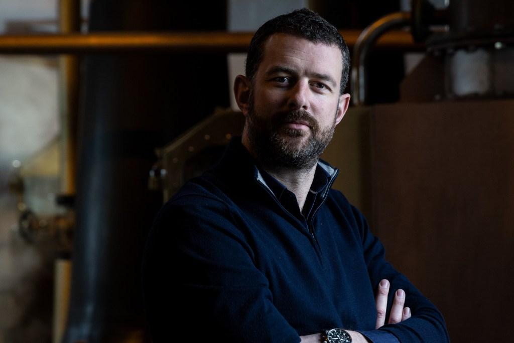 Douglas Taylor. Bruichladdich Distillery CEO.