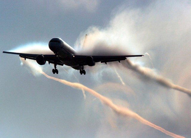 chemtrail plane
