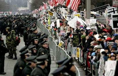 Image result for bush inauguration 2001 protest