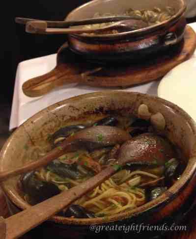 Al Pozzo Spaghetti al Vongole Marked
