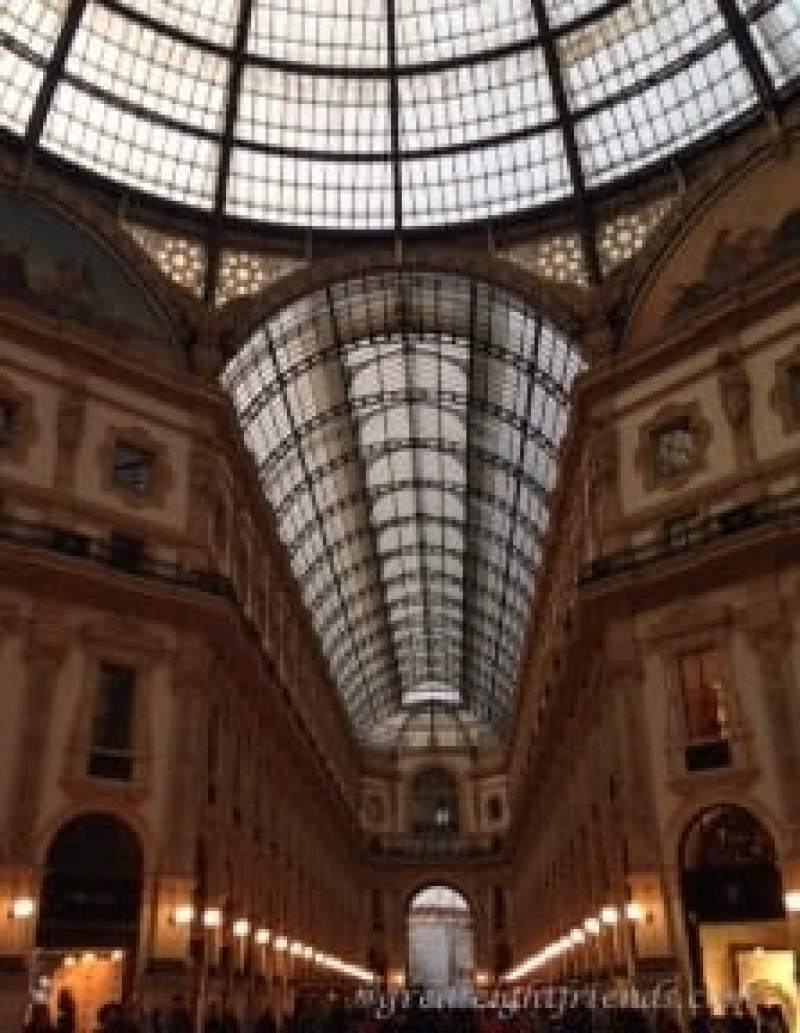 Milano Galleria Vittorio Emmanuele II Marked