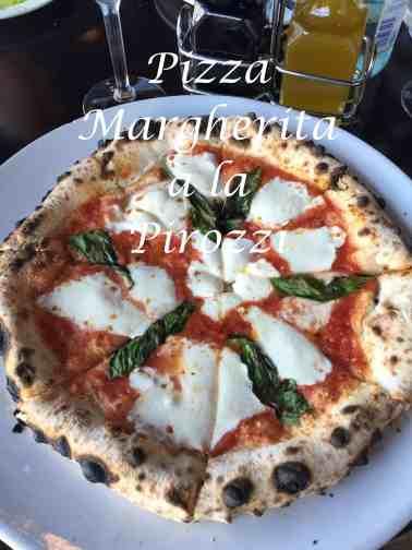 Pizza Margherita Pirozzi