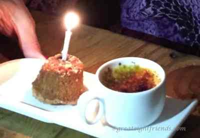JS bday 5.15 Broadway dessert