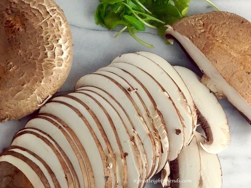 Portobello Mushroom Quesadillas