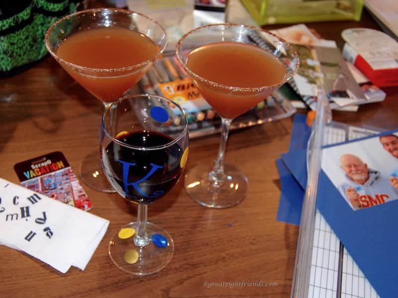 Scrapbooking Drinks